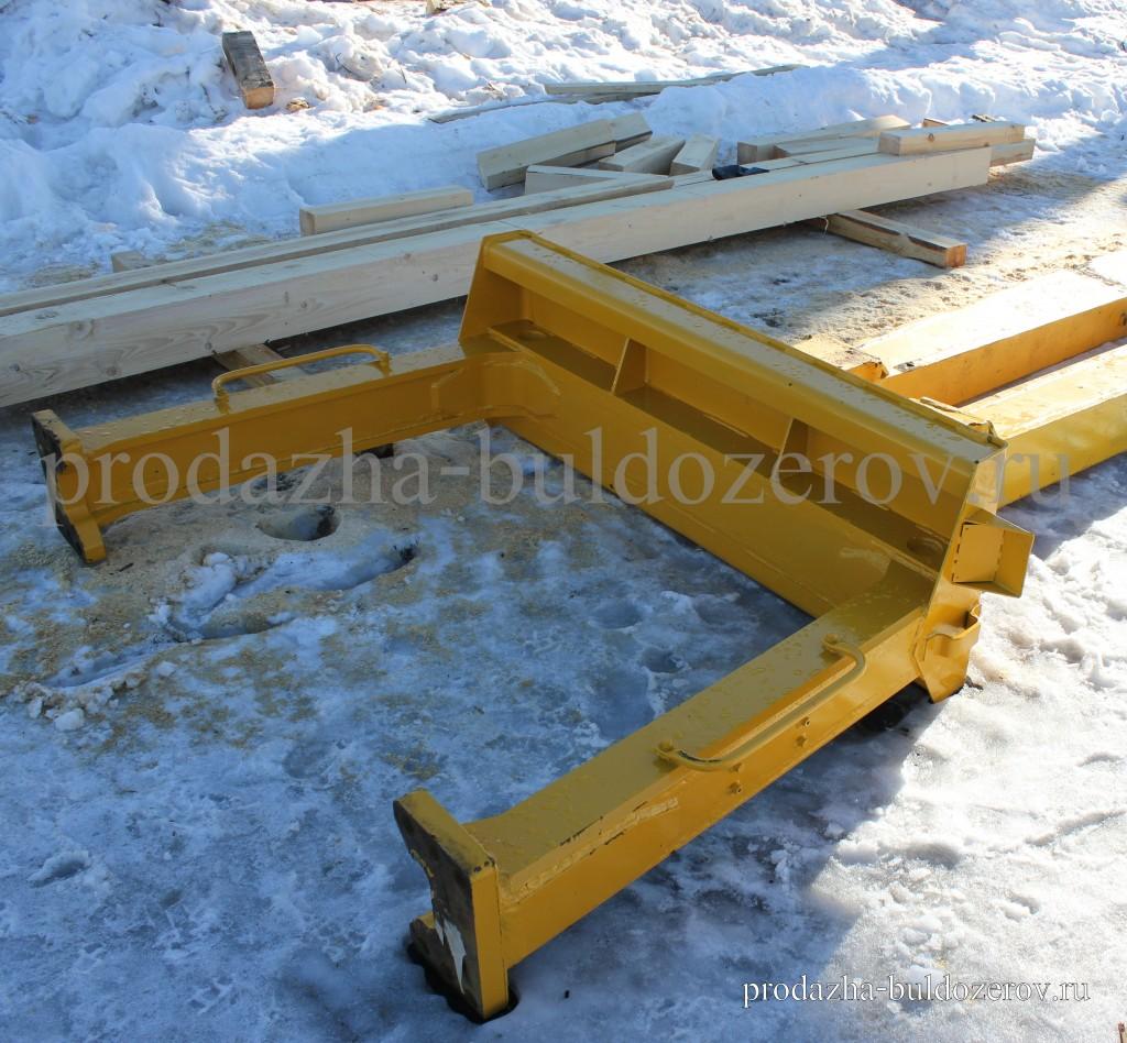 Рама защиты кабины | Продажа бульдозера ЧЕТРА Т-35.01 ЯБР-1